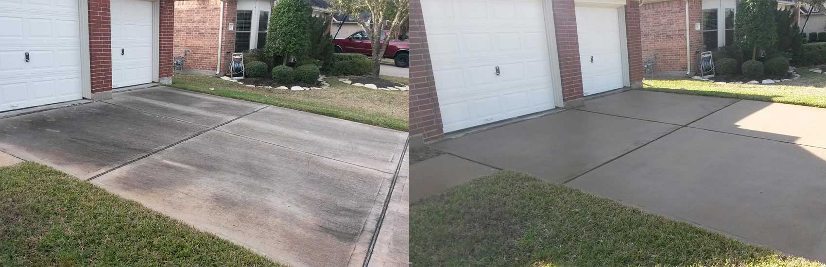 Katy-Driveway-Cleaning-Before