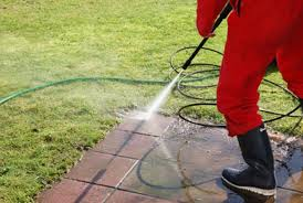 Safe pressure washing