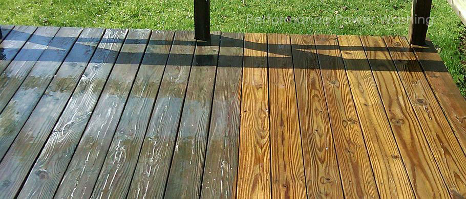 Sugar Land Deck Power Washing
